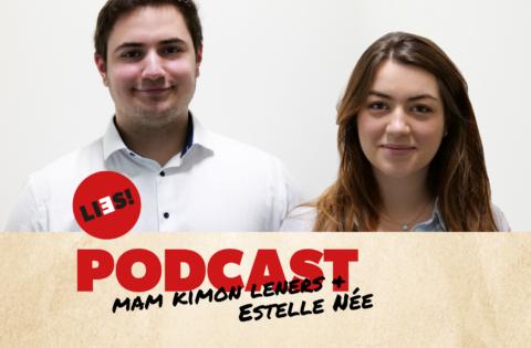 Podcast Estelle Née a Kimon Leners